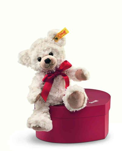 Steiff Teddy Sweetheart 22 cm creme in Herzbox 109904