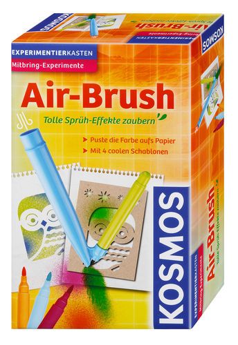 Kosmos Experimentierkasten Air-Brush 657604